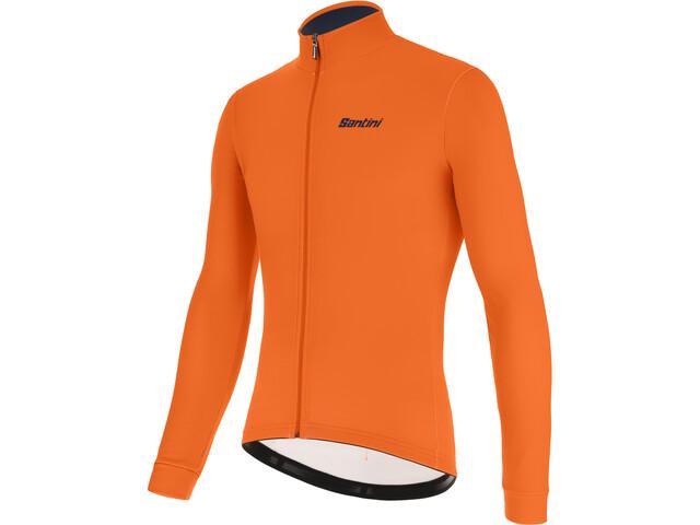 Santini Color LS Jersey Men fluo orange